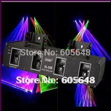 le ultime 4 teste 4 lenti 4 colori meraviglioso e sorprendente discoteca luce laser raggio laser di spessore dj luce discoteca fase di accensione(China (Mainland))