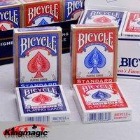 Original Bicycle Poker 1 pcs price Red or Blue Bicycle Regular Playing Cards Rider Back 808&Standard Sealed Decks Free shipping