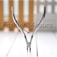 Stainless Steel Nail Cuticle Nipper Manicure Cutter Trimmer Nail Care Tool Remover Clipper Art