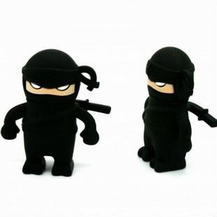 Japanese ninja Model USB 2.0 Flash Memory Stick Pen Drive 2GB 4GB 8GB 16GB 32GB LU080(China (Mainland))