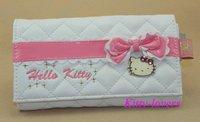 Free shipping hot selling  2012 hello kitty bags HelloKitty girl's wallet cute card holder women PU Purse