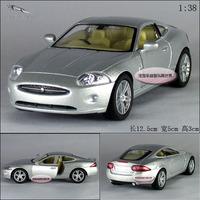 1:32 jaguar roadster xk coupe silver alloy car model free air mail