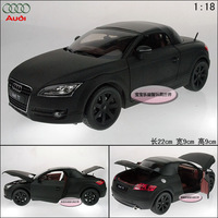 New Black 1:18 AUDI TT hardtop roadster sports car exquisite alloy car model free air mail