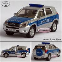 Siku TOYOTA rav4 police car delicate baby alloy car model free air mail