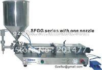Semi-automatic paste filling machine,liquid filler