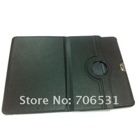 New Arrival Free Shipping Rotation Stand Leather Case for Samsung Galaxy Note 10.1 N8000 N8010