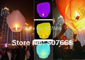 Chinese Kongming lantern Sky Lanterns Wishing Lantern fire balloon Birthday Lanterns 30pcs/lot Mix order
