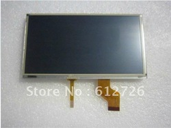 "7"" LCD Screen panel /Display with touch screen/Digitizer Car ,Portable TV C070FW03 V0(China (Mainland))"