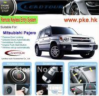 car alarm security system remote control start for Mitsubishi Pajero smart push button