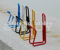 Free shipping 10 pcs/lot New Aluminum Alloy Bike Bicycle Bottle Cage Bottle Holder clip Bicycle Accessories