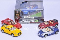 WLtoys 8887 1:43 5ch die-cast alloy racing metal rc car speed up lights mini 10cm