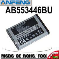 Genuine 1000mAh AB553446BU battery for samsung B2100 Xplorer B100 SCH-B619 C3300K Hello Kitty C5212i C5130 C3212 free shipping