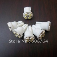 50pcs/ lot white T10 4 3528smd super bright Auto led car led lighting free shipping