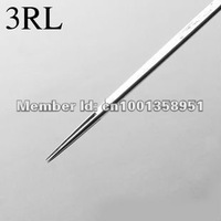 Tattoo Needles-- 50pcs Stainless Steel Tattoo Needles 3RL / tattoo-specific products - free shipping