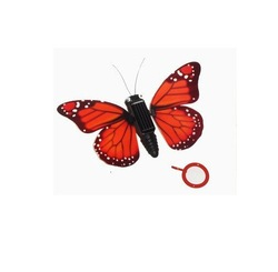 Free shipping New Mini Sunlight Unique Toys Butterfly Education Aid Gift Toy Solar Powered Energy With retail box(China (Mainland))