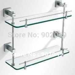 Antique Classic Design Bathroom Shelves Glass Bath Room Shelve Accessories KL-ZF342