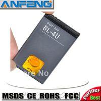 Genuine1000mah BL-4U BL4U Battery For Nokia c5-03 Bateria Batterie Batteria Batterij AKKU free shipping