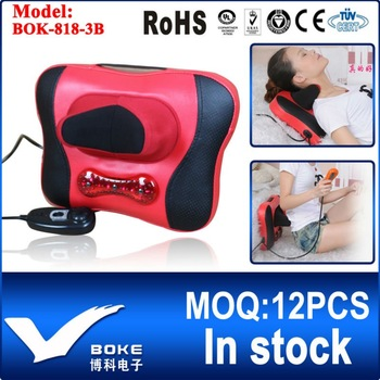 [BOKE Brand] Butterfly Massage Pillow Massage Cushion Neck Neck Massage Pillow BOK-818-3B CE Certificate Hot Sale In China