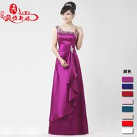 Free Shipping Hot Sale New Design Sexy Long Bridesmaid Dresses OB5329