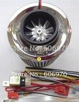 Electric turbine supercharger mushroom head engine head  filter