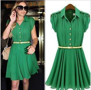 Long Sleeve Dress on Free Shipping Women S Slim Fit Long Sleeve Dresses Ladies Plus Size