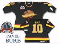 Wholsesale Jersey  Vancouver Canucks  #10 Pavel  Bure Ice Hockey Jersey  vintage CCM jerseys 1994 Mix order