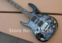 Custom Shop Black  7V Left Hand Electric Guitar New Arrival High Quality Free Shipping Wholesale