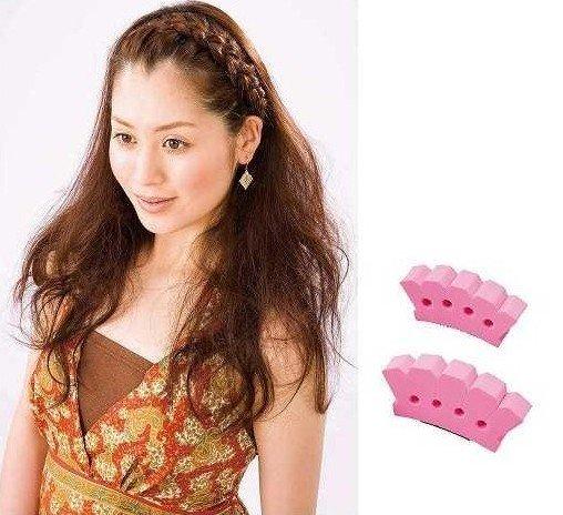 /lot sponge Wonder Hair Braider Twist Styling French Grace Braid Tool ...