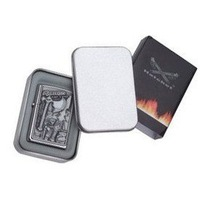 T01 tin lighter box white tin kerosene lighter box lighter Special gift