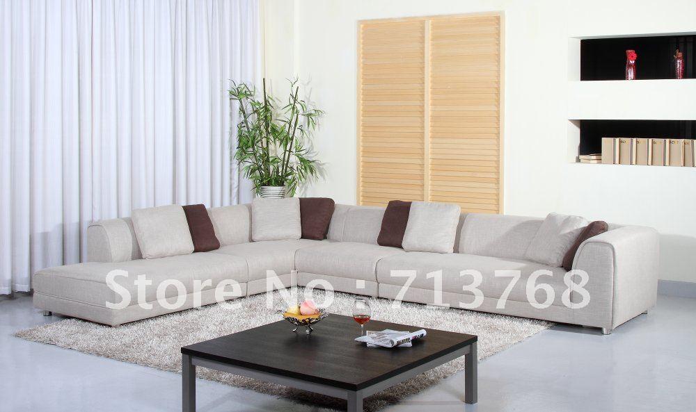 Achetez en gros grand canap d 39 angle en ligne des for Model de salon moderne