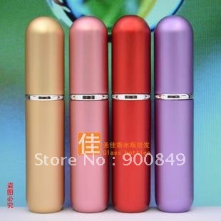 Aluminum Perfume Sprayers (Assorted Colors),Mini Travel atomizer,Refilled spray perfume bottle
