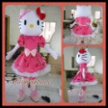 2200 hello kitty pink dress lovely  thefancycostume hot sale, free ship , Mascot Costume, cartoon , Halloween cosplay Dress