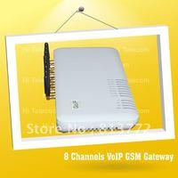 GoIP8 VoIP Gateway,8 SIM Card GSM VoIP Gateway