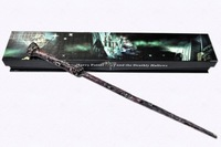 Free shipping NEW Harry Potter Hogwarts Magic Wand Deluxe Cosplay HOT