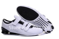 Free shipping  Men's brand running Shoes R3 hook & loop velcro Leather Style men's Running Sport Footwear