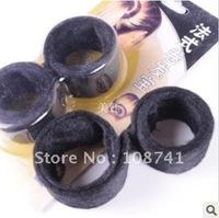Black 120bags/lot hairagami bun ponytail maker hair accessory