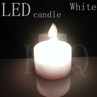 Free shipping, Valentine's day is special, romantic small candle, white LED, button batteries + quality assurance 5pcs/lot