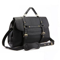 Fashion Women's Britpop PU Leather Purse Handbag Shoulder Messenger Satchel Bag Retro briefcase Hotsale New Wholesale Q039