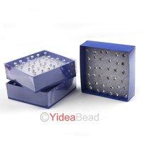 Popular Sale 1080pcs Body Jewelry White Rhinestone Plastic Piercing Bodyrings Earrings 260699