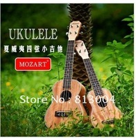 Wholesale free shipping 21 inch Soprano ukulele 15 product length of 53 cm for beginners / wholesalers OEM small Hawaiian guitar