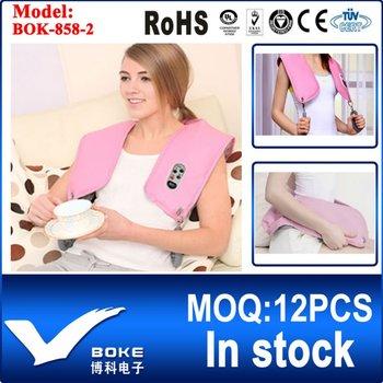 [BOKE Brand] Neck & Shoulder Tapping Massager Blet Hand Massager Back Waist Leg Massager Heating BOK-858-2 Best Sales in Korea