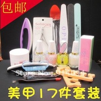 Promotional bag mail economic and practical repair hand suit nail art tools nail care
