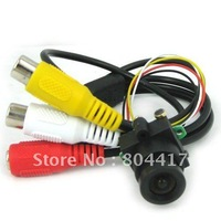 Free Shipping New High Quality MC495 1/3 520TVL Color CMOS Pinhole Surveillance Miniature Video  Camera