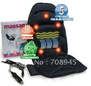 Best selling!! Walmart Car Chair Back Seat massage chair Heated Cushion hot  Warmer 1pcs  Free shipping