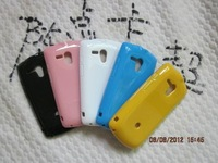 free shipping  50pcs/lot Cany Jelly TPU Soft Gel Case Cover Skin for  Sony Xperia Neo L, MT25i