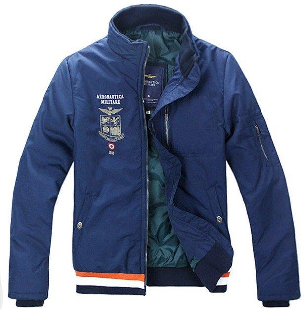 Wholesale/retail,AERONAUTICA MILITARE winter style Leisure men jacket, zipper windbreak-Free shipping(China (Mainland))