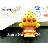 Free Shipping 5pcs/Lot Cartoon Silicone  USB  Flash Memory Drive USB Flash Disk  Thumb USB  Pen Drive