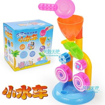 iZone Summer water bath toys set watertruck beach hourglass 3c 0.4