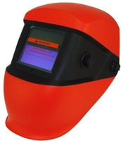Double spray paint  Li Battery+Solar auto darkening welding helmet/filter for the welder operate the welding equipmt