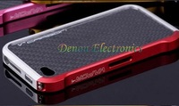 Blade Metal  Aluminum Bumper Frame Case Cover For iPhone 4G 4s, For iphone 4s Blade Bumper, Free Shipping MOQ:1PCS